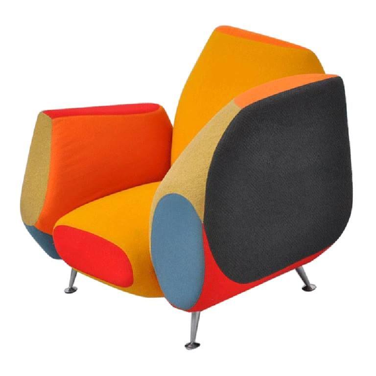 Javier Mariscal U2013 Hotel 21 Chair, Moroso 1997