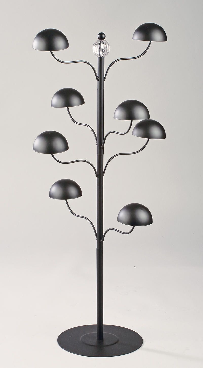 Hat Display Table Top Glass Table Lamp