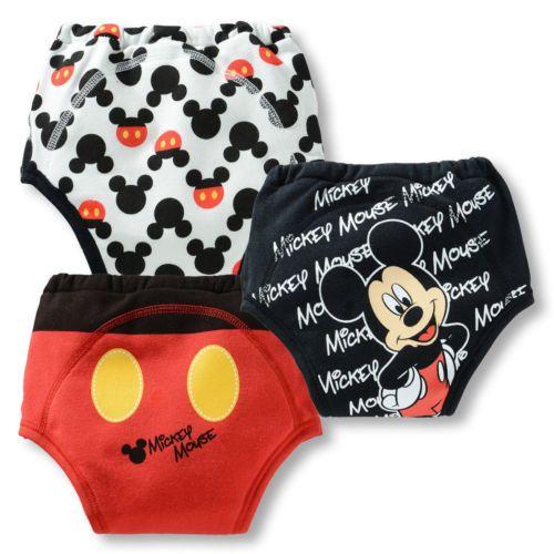 f633cd379bb1 3PCS Kids Baby Boy Girl Toddler Cotton Potty Training Pants Cartton ...