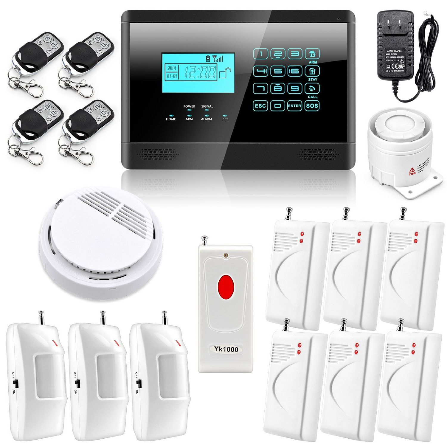 Gcc Home Security Systems Market Projected To Exceed Us 470 Million By 2023 Imarc Group Alarm Systems For Home Diy Home Security Home Security Systems