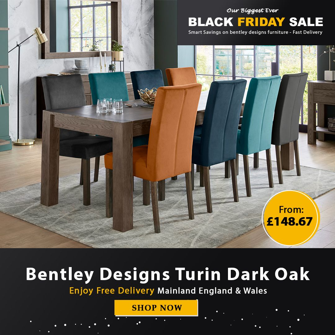Black Friday Sale Bentley Design Turin Furniture Black