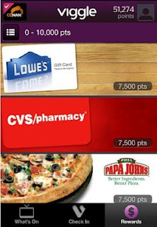 Viggle App Get Paid to watch TV!