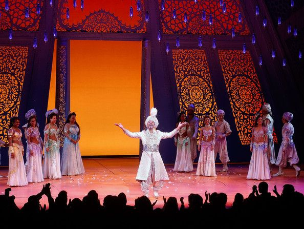 Aladdin Opening Night And Curtain Call Aladdin Broadway