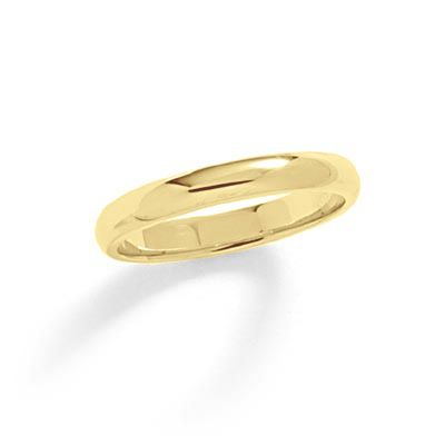 Mens 3mm Wedding Band in 10K Gold Zales mens wedding ring