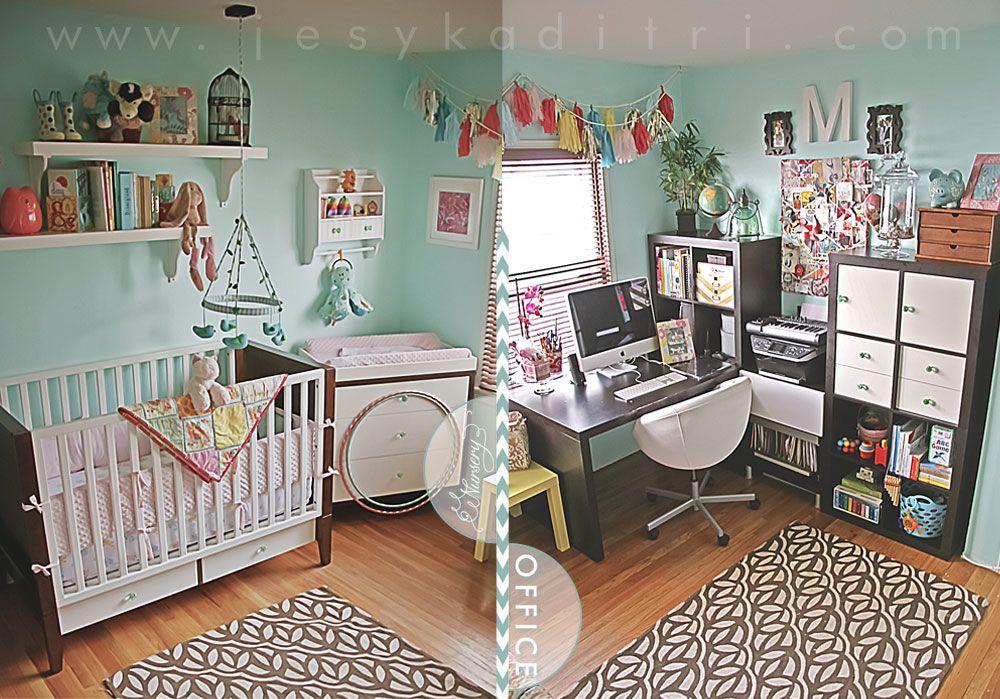 Google search Nursery/office combo. Love! BABIES