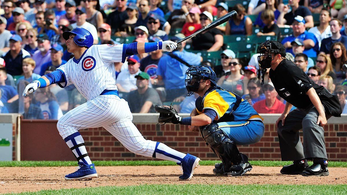 Hitting Wins Championships Why The Chicago Cubs Inverted Rebuilding Strategy Is Starting To Look Brilliant Chicago Cubs Cubs Chicago