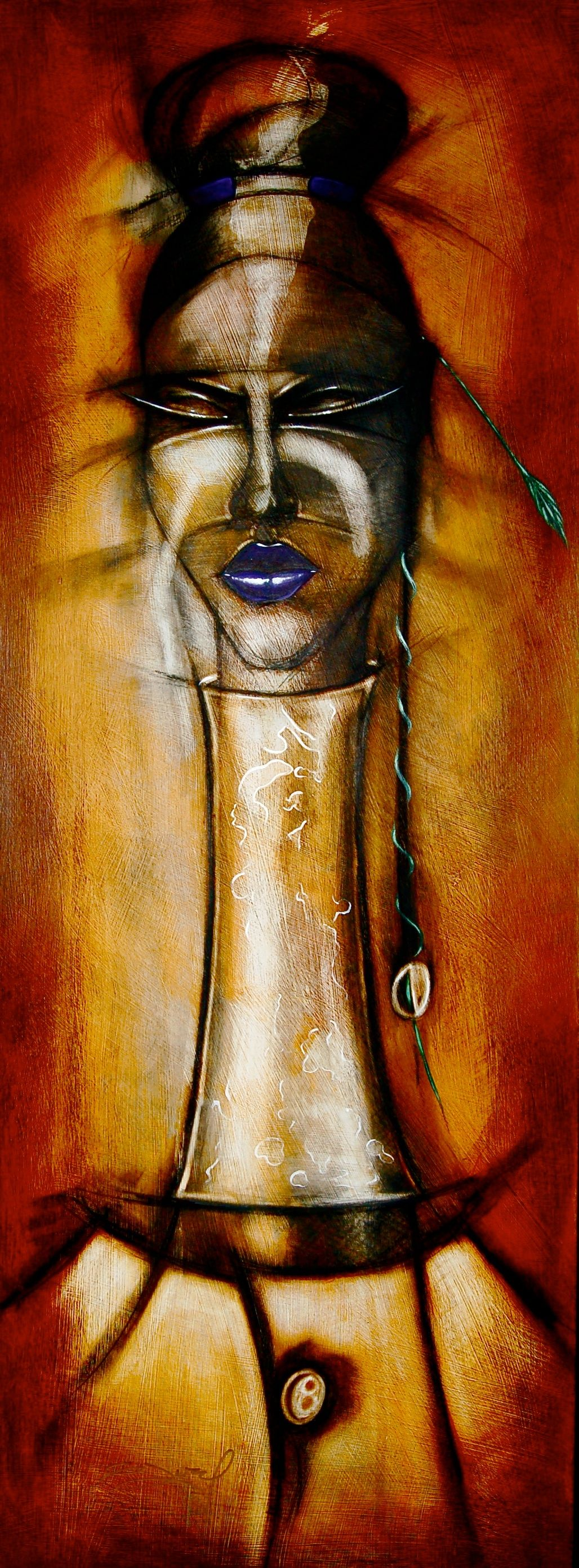 Gerald Ivey Art African Culture Contemporary
