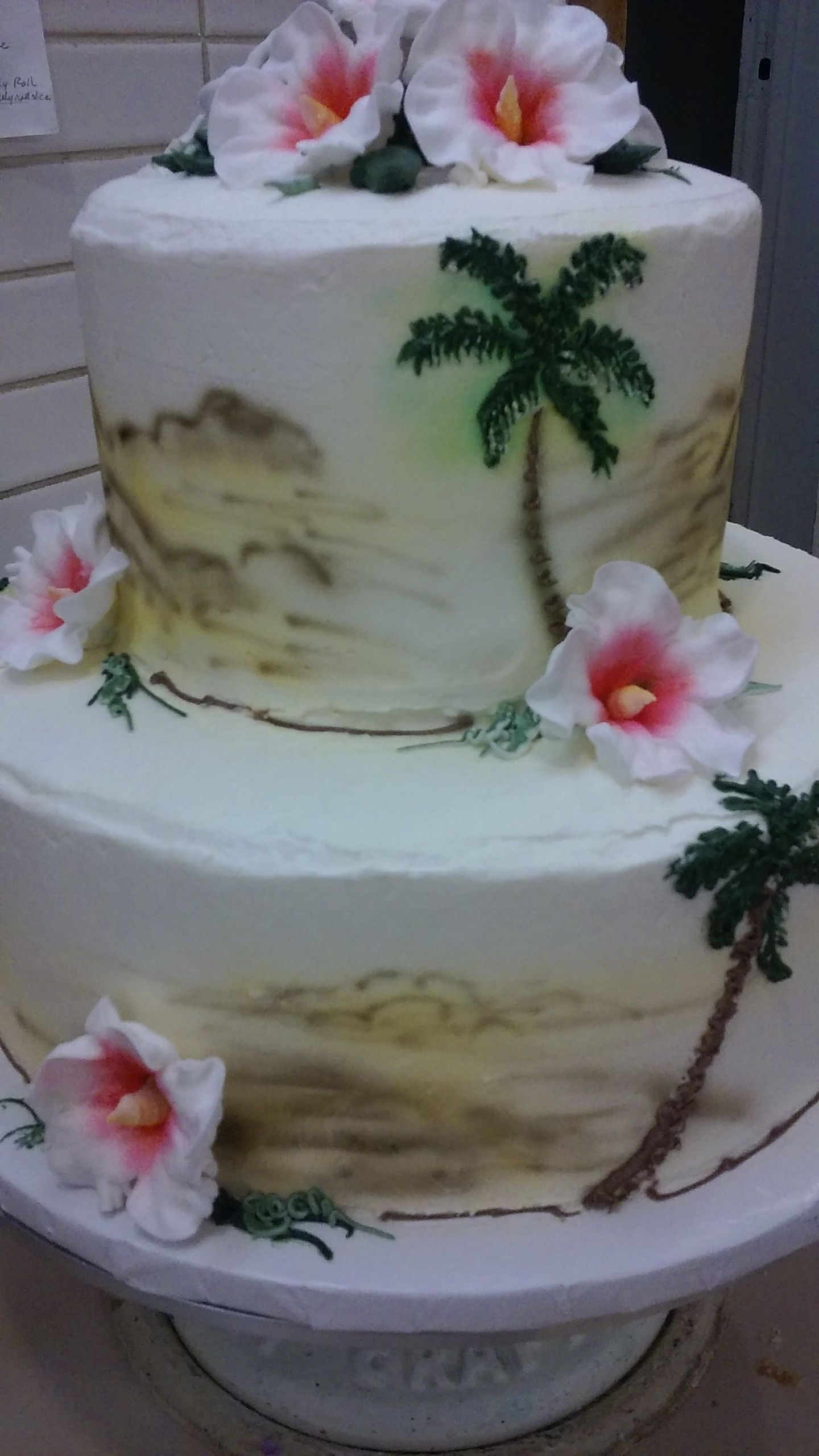 hawaiian wedding cake designs hawaiian shirt design on wedding cake angela hodgkins 15110