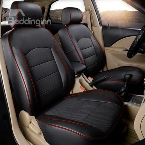 Super Luxurious And Classic Leather Material Car Seat Cover Car Seats Leather Car Seat Covers Custom Car Interior