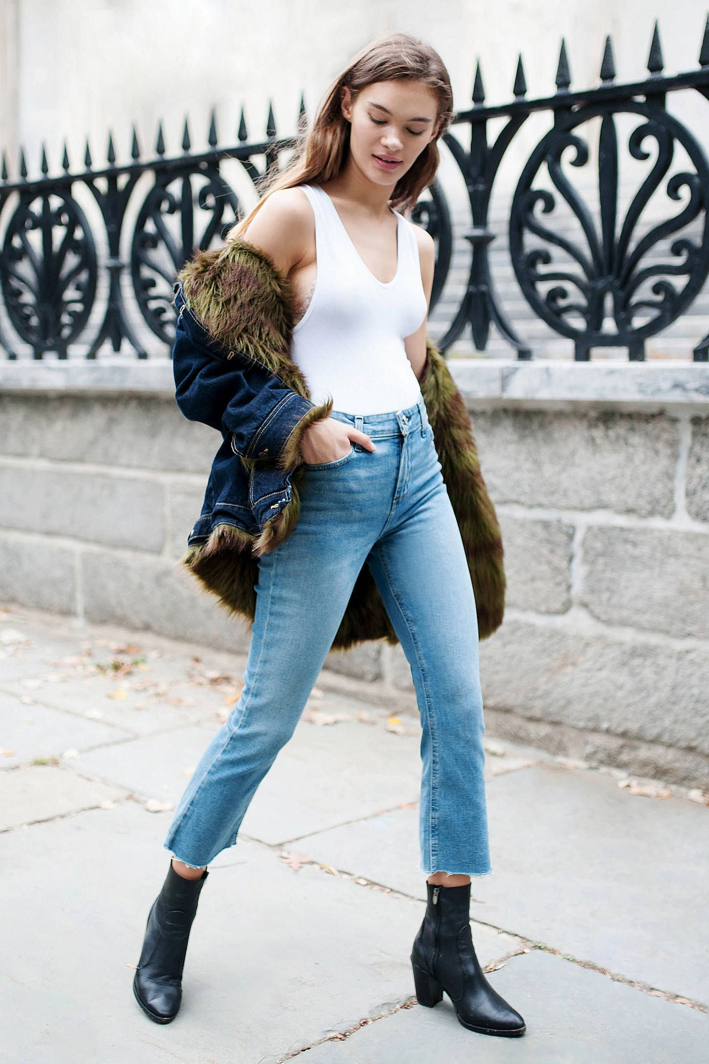 2355118b Shop BDG Kick Flare High-Rise Cropped Jean - Stone Bleach at Urban  Outfitters today. We carry all the latest styles, colors and brands for you  to choose ...