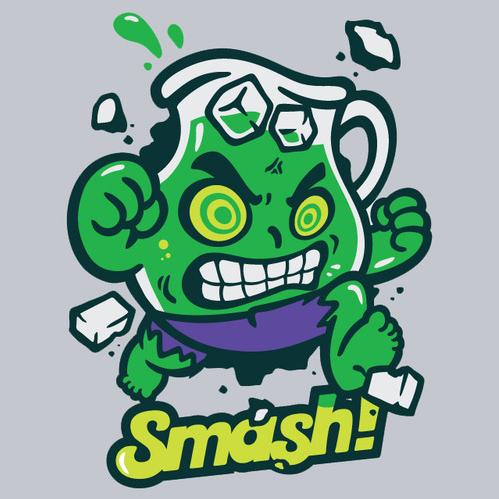 Hulk Smash Kool Aid Man Hulk Kool Aid