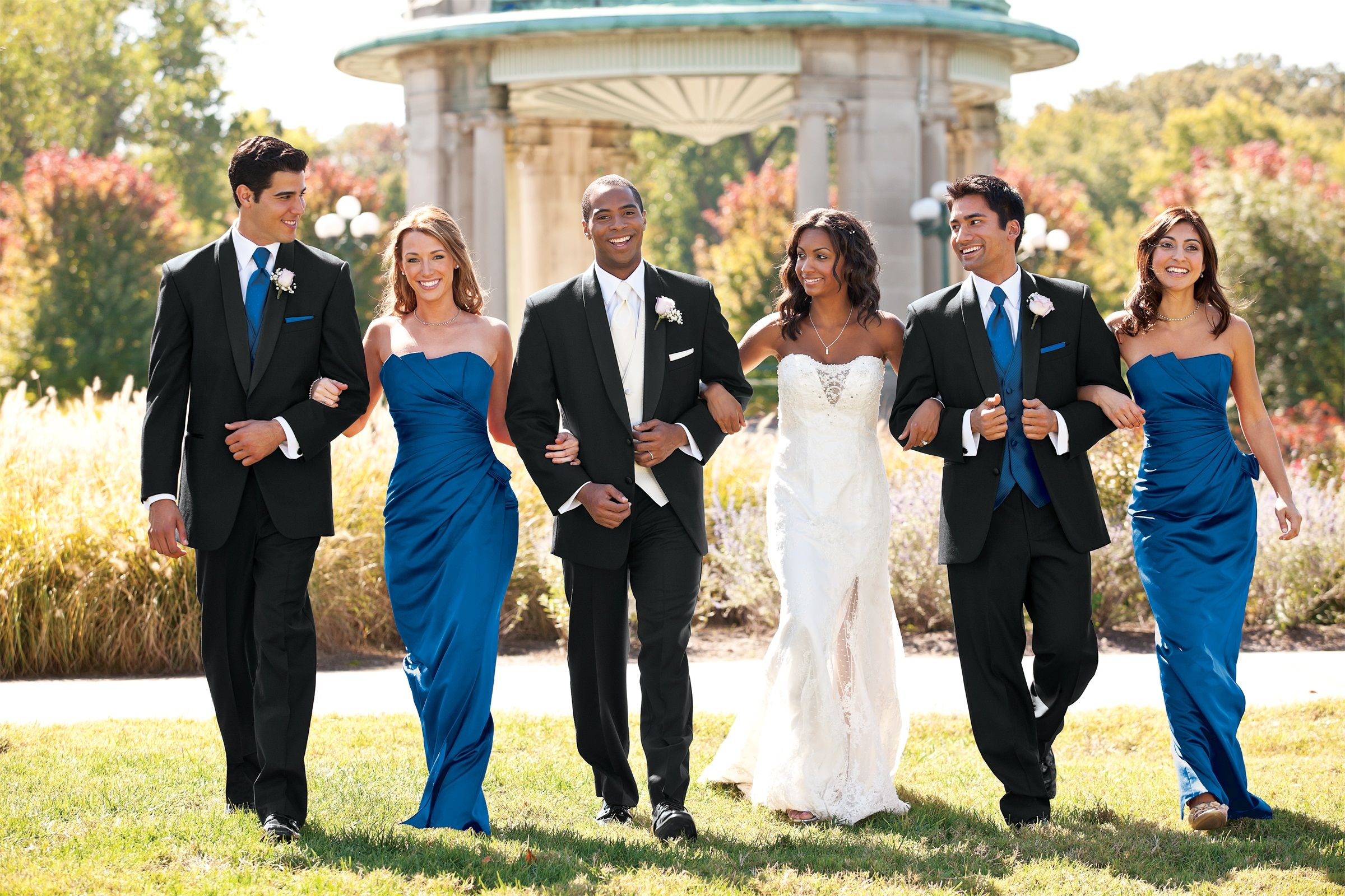 Tuxedo Rentals And Color Matching