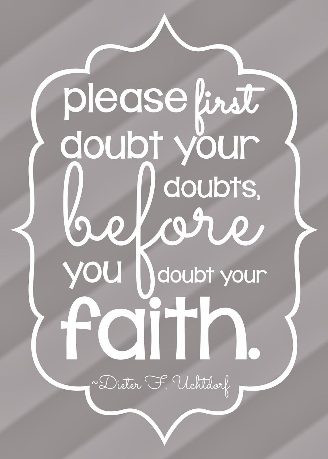 Lds Quotes On Faith My Posh Designs Lds October 2013 General Conference Quote Free