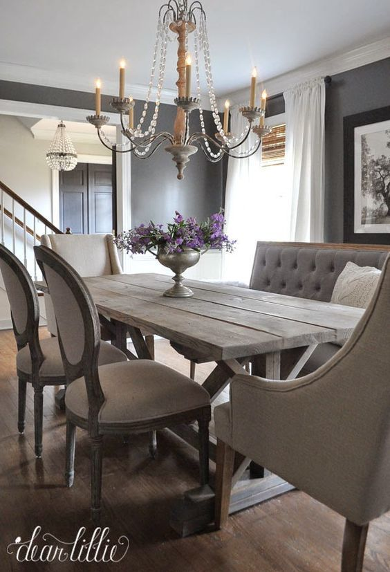 Favorite Things Friday Dear Lillie  Traditional Dining Chairs Pleasing Chic Dining Room Sets Design Inspiration