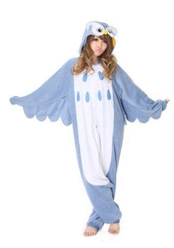 Kigurumi Owl Animal Pajamas / Fancy Dress Owl Costume Kigurumi Adult Pajamas « Clothing Impulse