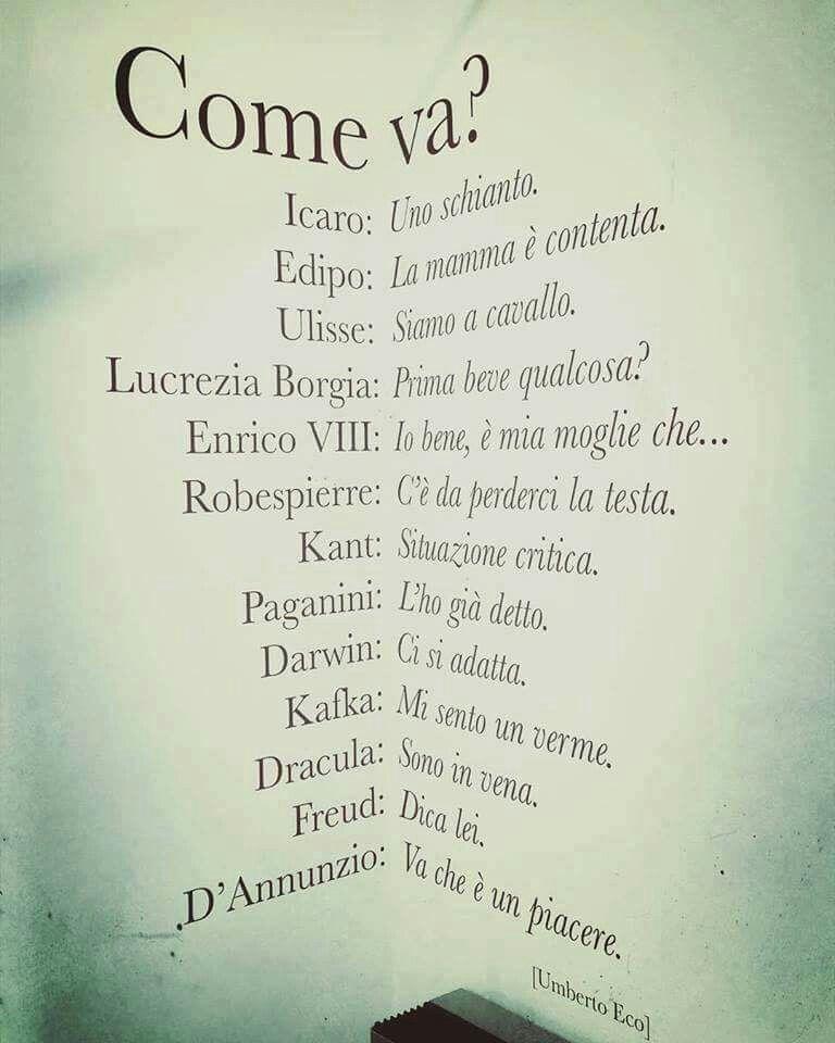 Frasi D Amore Umberto Eco.Umberto Eco Citazioni Sagge Citazioni Casuali Citazioni Divertenti