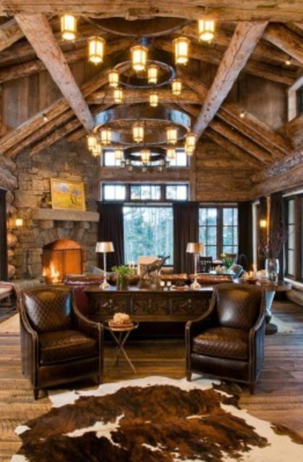 Rustic Living Rooms-39-1 Kindesign