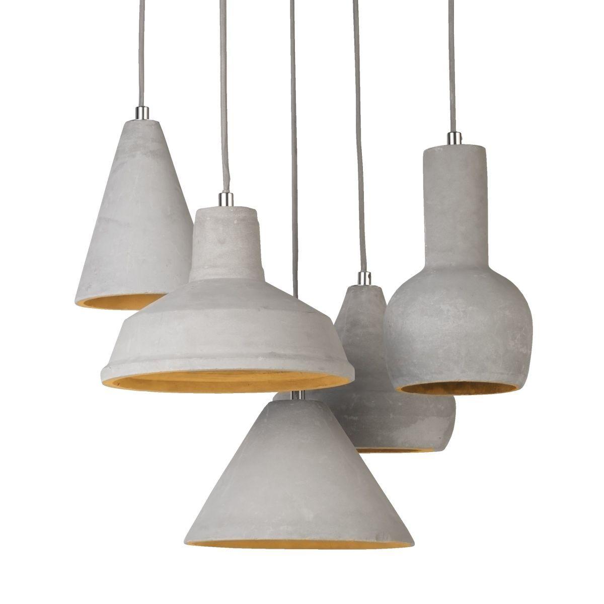 Deckenleuchte aus Beton, Betonlampe - versandkostenfrei bestellen auf http://moebeldeal.com/moebel/lampen-und-leuchten/5970/deckenleuchte-beton-betonleuchte?c=116