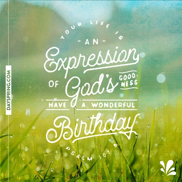 DaySpring Ecards Happy Birthday Religious