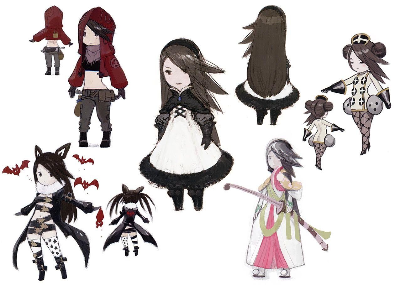 "Character Design Wiki : ""bravely default by 吉田 明彦 akihiko yoshida info"