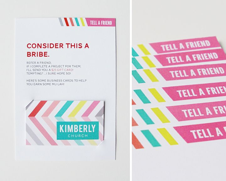 Kimberly Church || Referral Cards #photogpinspiration | {Business ...