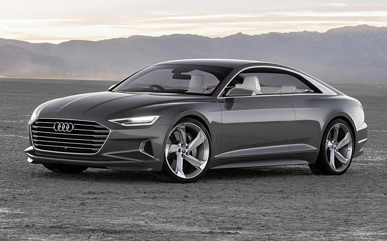 2018 Audi A9 Prologue Concept Car - The competition on the ...