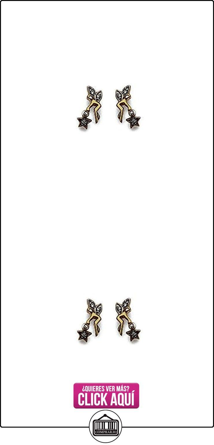 MARY JANE-Pendientes chapados en oro mujer-Ancho: 7 mm %2F Altura: 13 mm, chapado en oro-circonio (%2F), diseño de hada  ✿ Joyas para mujer - Las mejores ofertas ✿ ▬► Ver oferta: https://comprar.io/goto/B019Y6W850