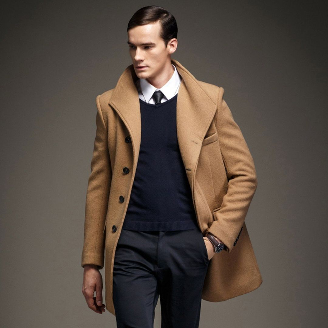Looks Stylish With 11 Men S Coat Ideas To Stay Warm In Winter Fashions Nowadays Mens Fashion Winter Coats Mens Fashion Coat Mens Winter Coat [ 1080 x 1080 Pixel ]