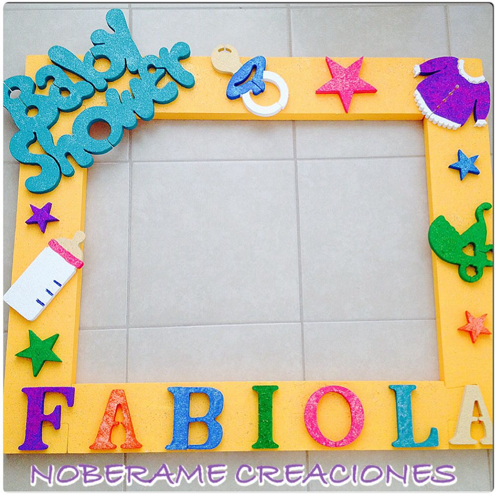 Marco para baby shower marcos pinterest baby showers - Marcos para decorar ...