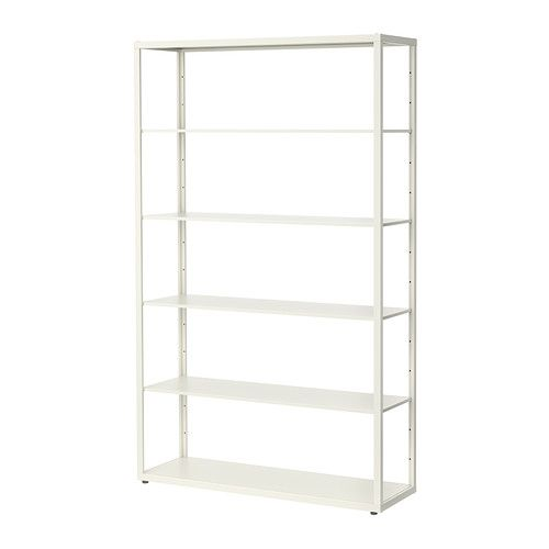 Fjalkinge Shelf Unit White 46 1 2x76 Ikea Shelving Unit