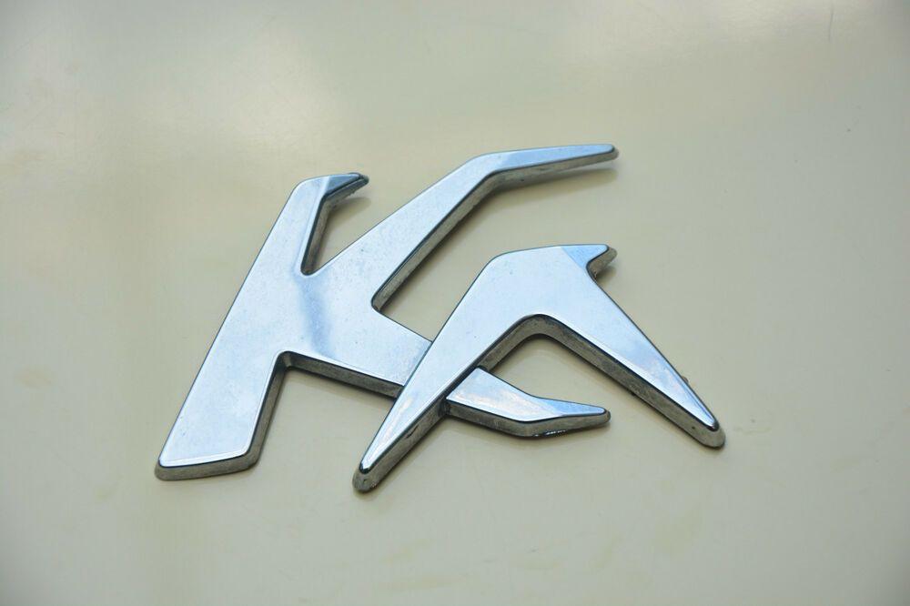 Original Ford Ka Chrome Nameplate Rear Logo Emblem Badge Oem