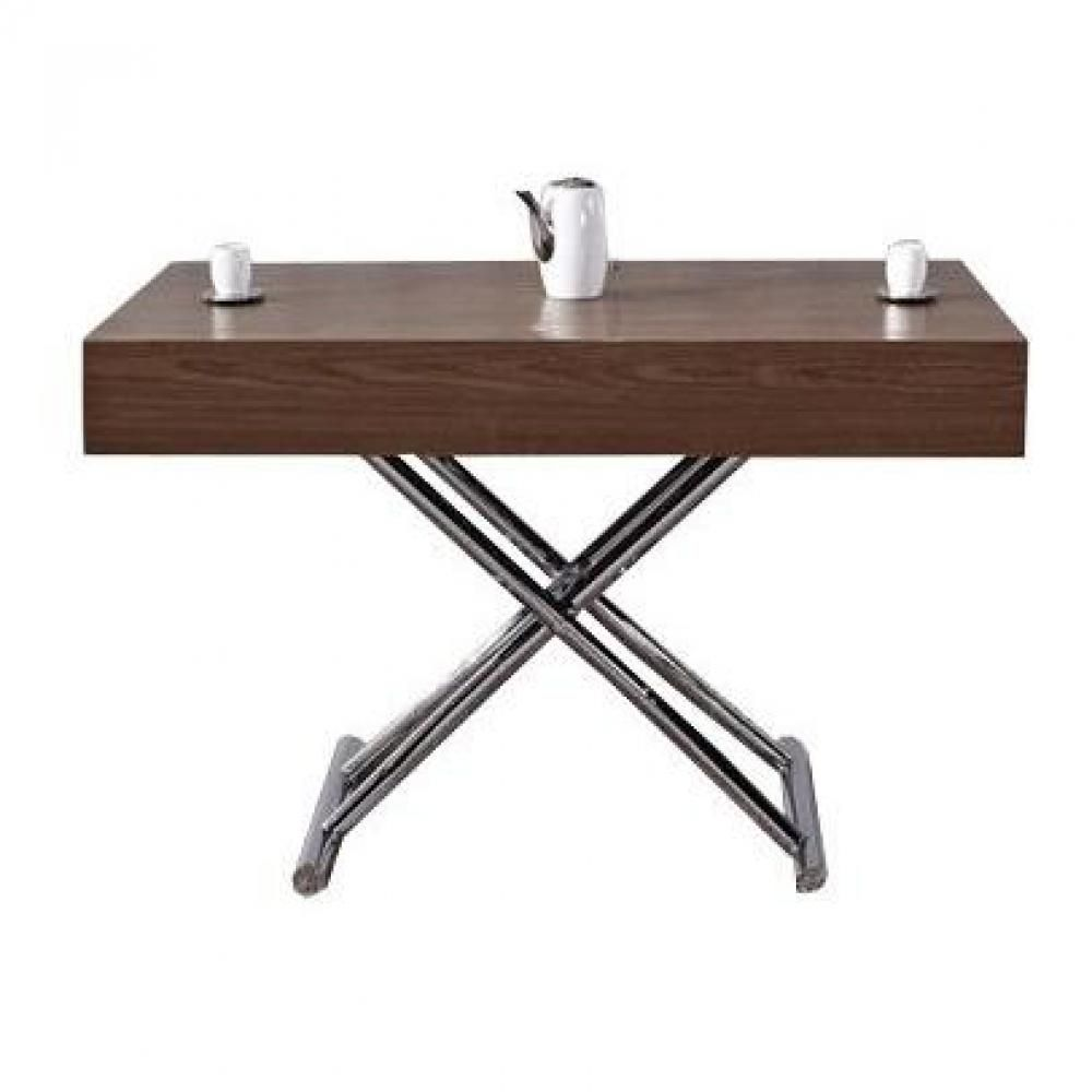 Table Basse Relevable Cube Noyer Extensible 10 Couverts En 2020 Table Basse Relevable Table Basse Et Table Basse Relevable Extensible
