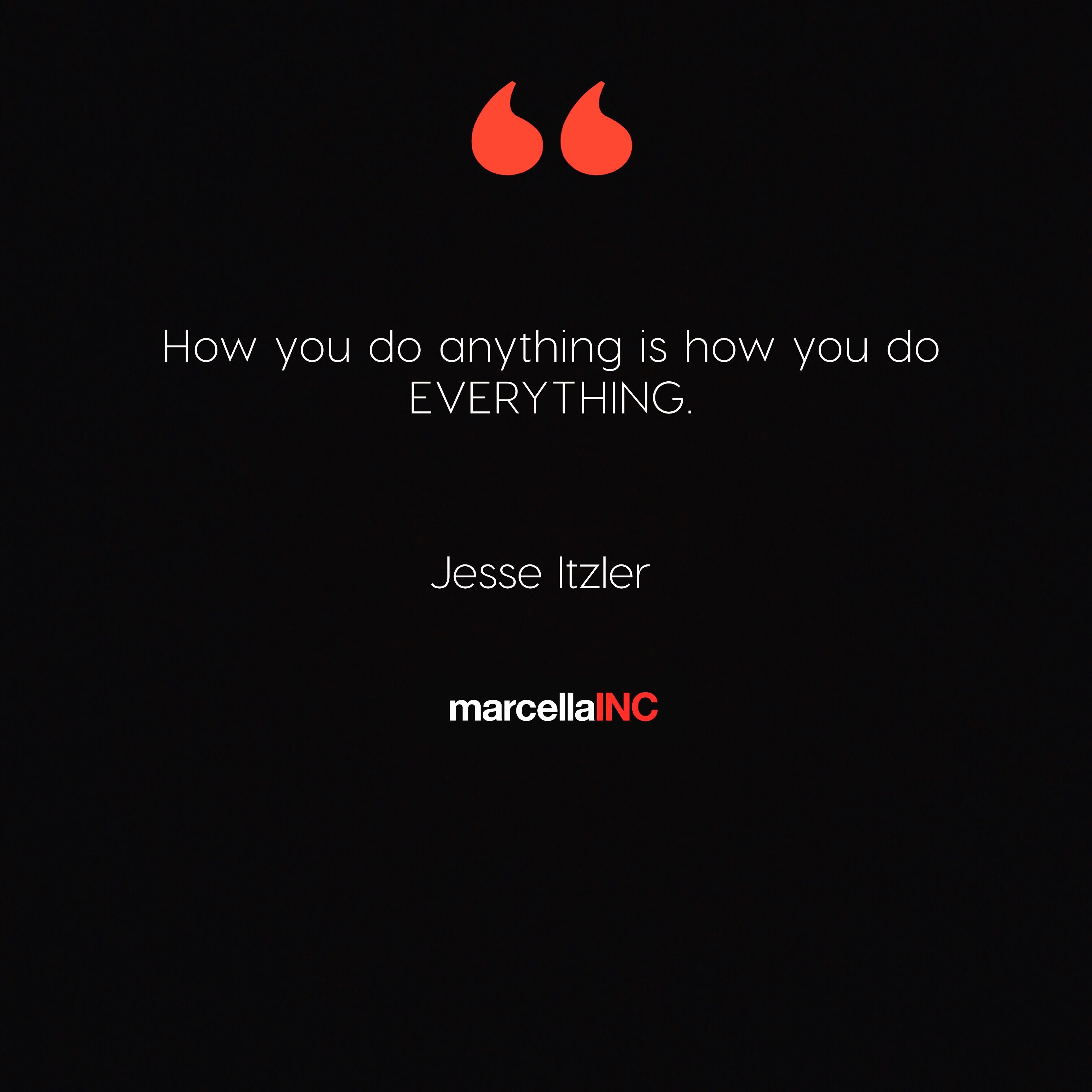 Jesse itzler quote for bylr build your life resume
