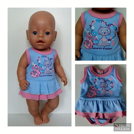 Baby Born clothes. 100% cotton Doll is not included. | Patrones de ...