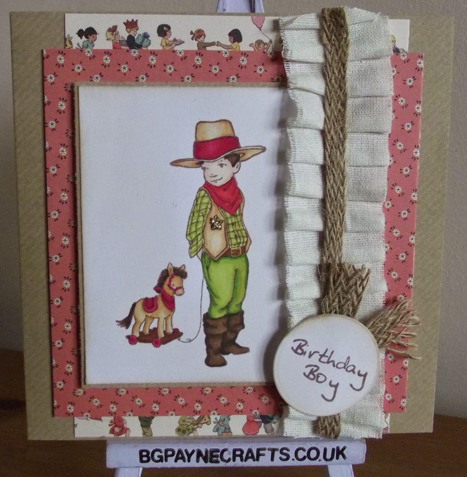 BGPayne Crafts : Belle and Boo Birthday Boy