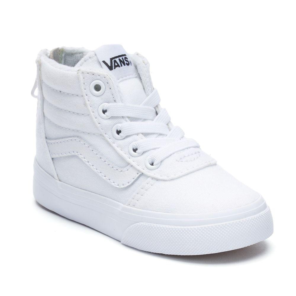 3ffeda4c57 Vans Ward Zip Toddlers  High Top Sneakers