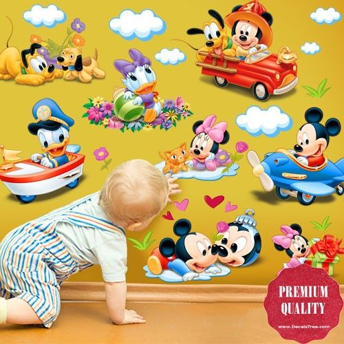 Disney Mickey Mouse U0026 Donald Duck Wall Decal Part 13