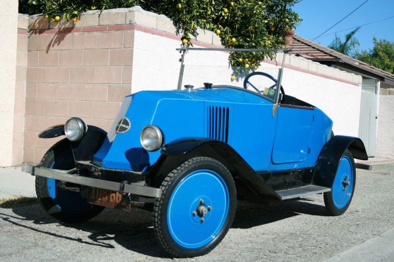 Motor War Car, 1899 | Check Out This Car   Pre-War 1923 Renault KJ Roadster