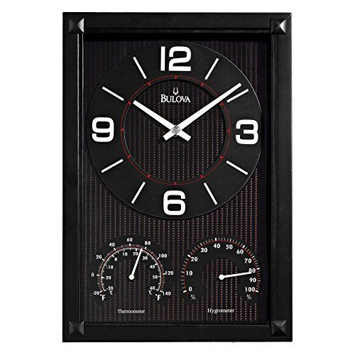 Bulova Concept Wall Clock 9w X 1275h In You Can Find More Details By Visiting The Image Link Bulova Wall Clock Clock Clock Decor
