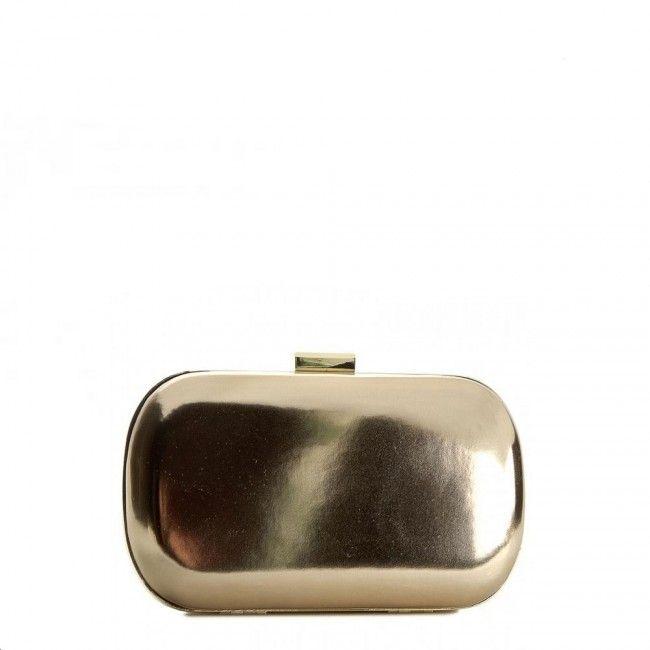 Guess Gemma clutch bag gold multicolor FRArVnNH