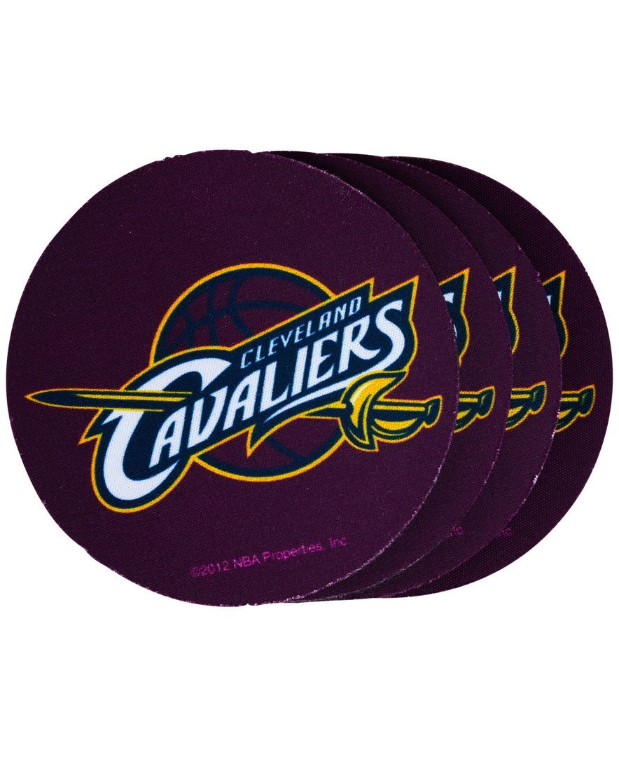 Memory Company Cleveland Cavaliers 4-Pack Coaster Set