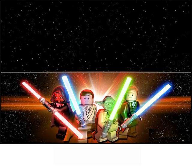 Star Wars: Envoltorios para Chocolates para Imprimir Gratis.   Para ...
