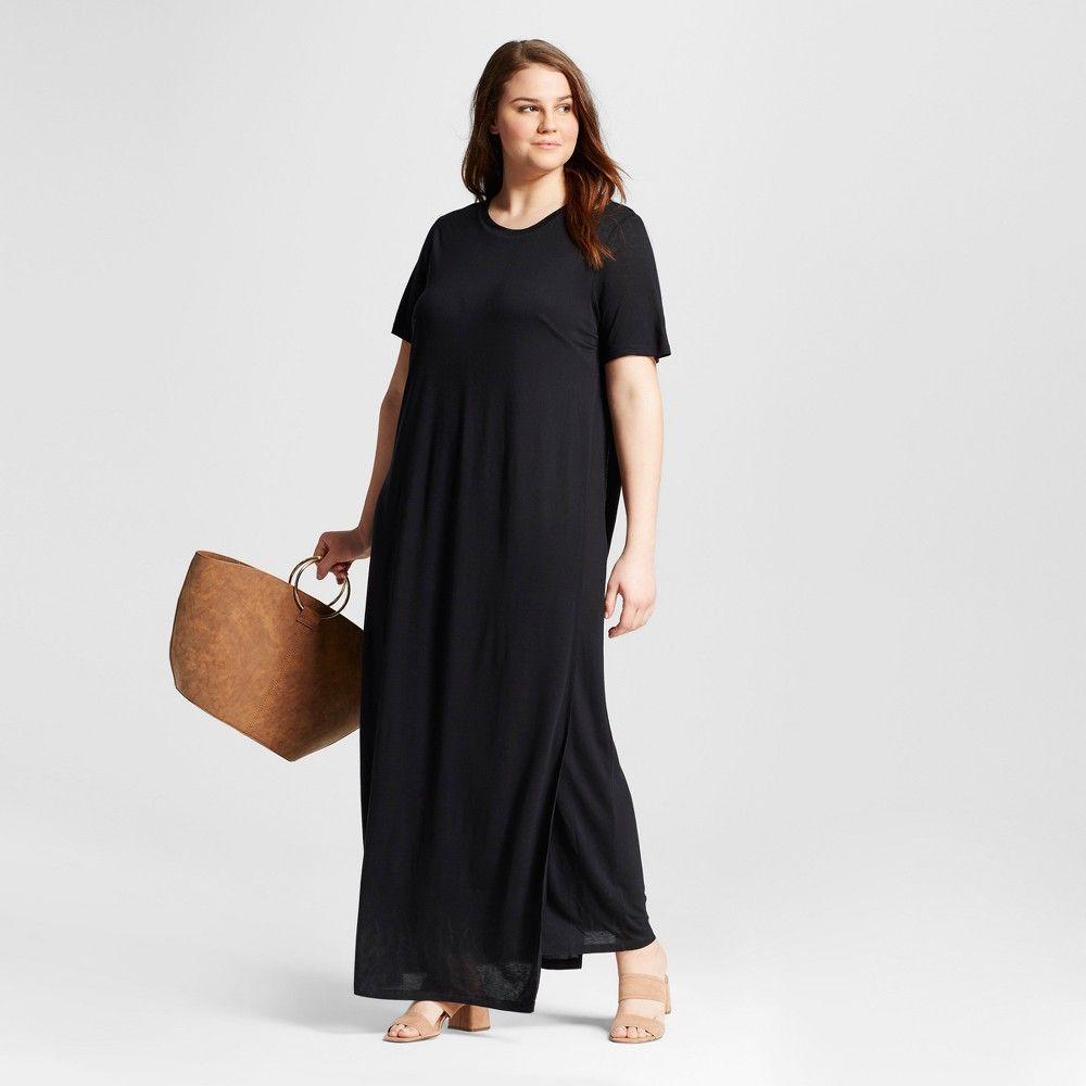 Plus Size T Shirt Maxi Dresses Rldm