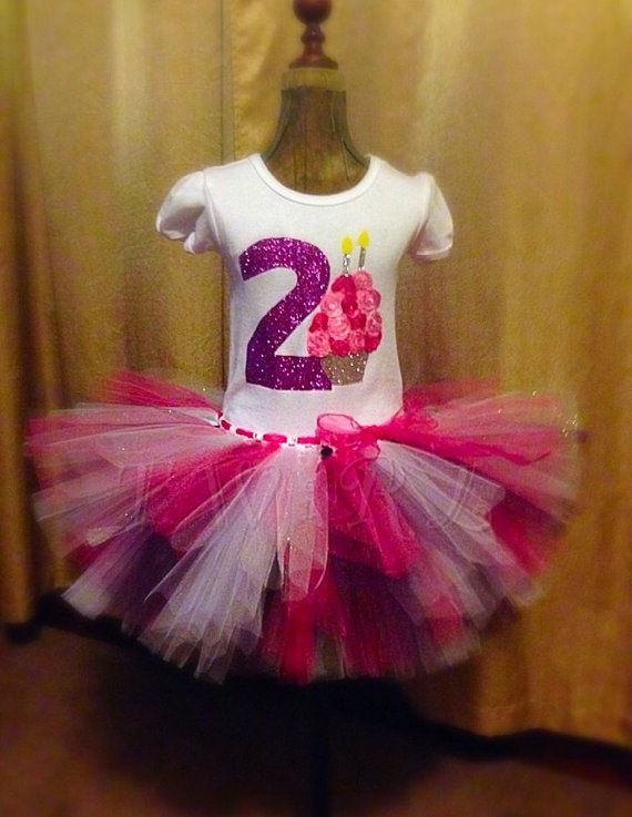 Girls Second Birthday Outfit 2nd Shirt