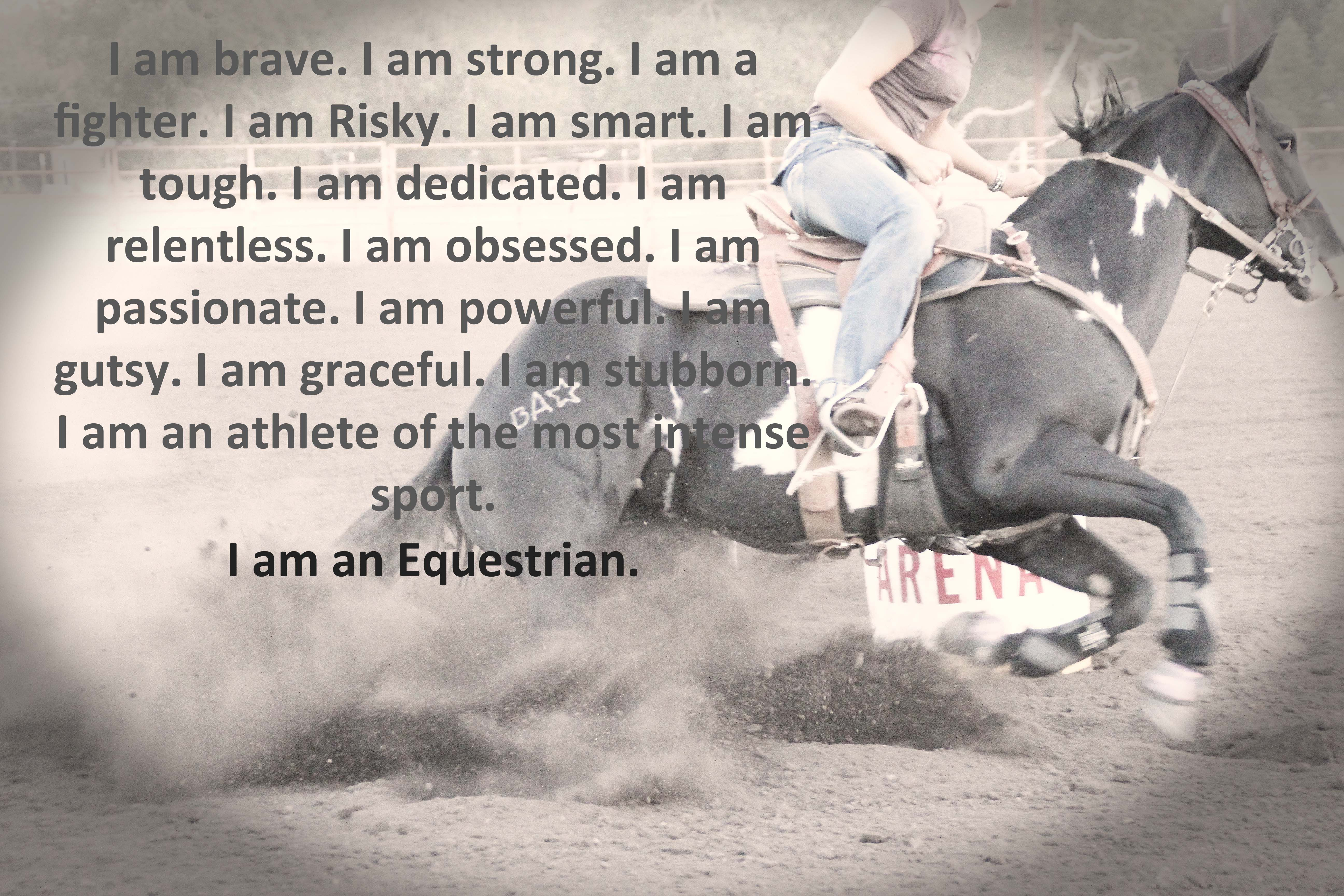 Barrel Racing Quotes Cowgirl And Her Horse Quotesquotesgramquotesgram  Cowgirls