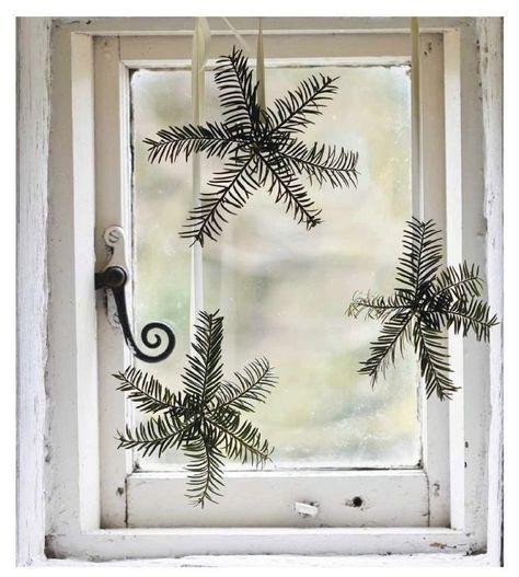 Et si vous décoriez vos fenêtres pour Noël? - Floriane Lemarié #islanddecorating