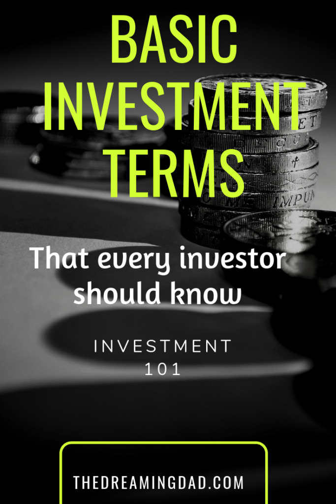 Basic Investment terms that every investor should know