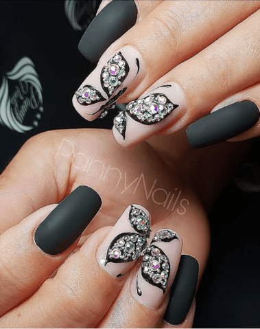 lovely butterfly nail art designs 2019  butterfly nail