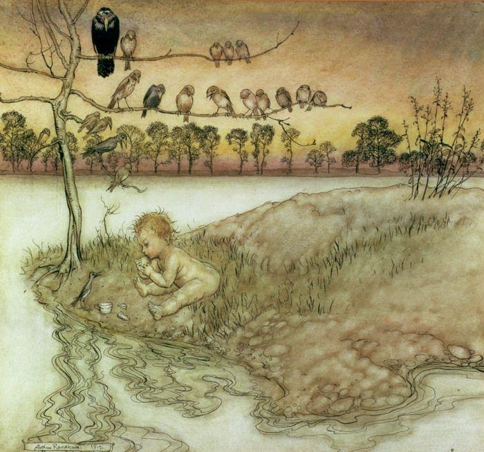 Arthur Rackham Illustration to Peter Pan in Kensington Gardens by ...