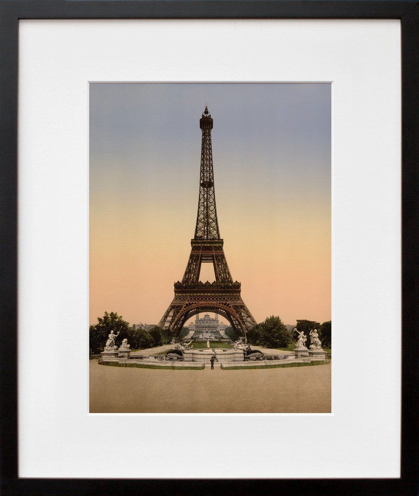 Eiffel Tower, Exposition Universelle, 1900 | Apartments, Walls and House